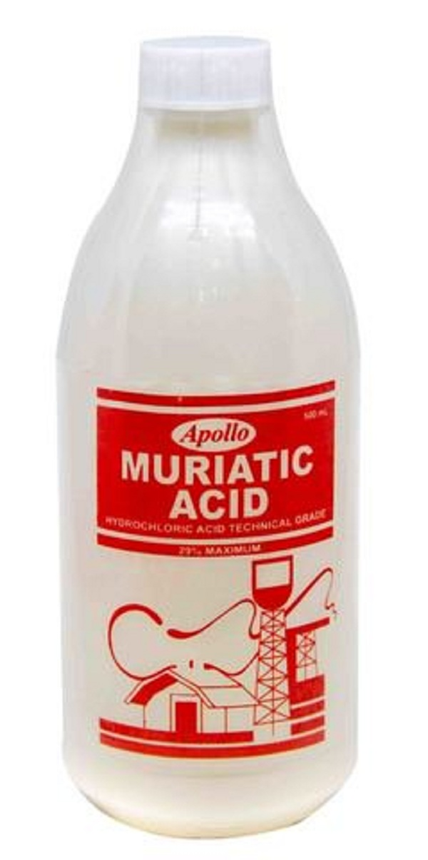APOLLO MURIATIC ACID – Silver Rose Hardware