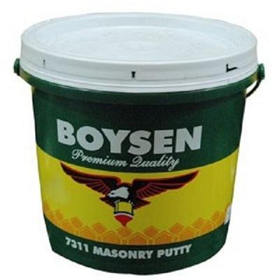Boysen Masonry Putty White B 7311 Silver Rose Hardware