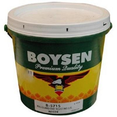 Boysen Wallguard Exterior Semi Gloss Latex B 5715 Silver