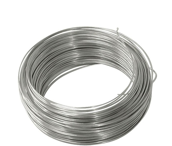 Gi Wire Per Kg Silver Rose Hardware