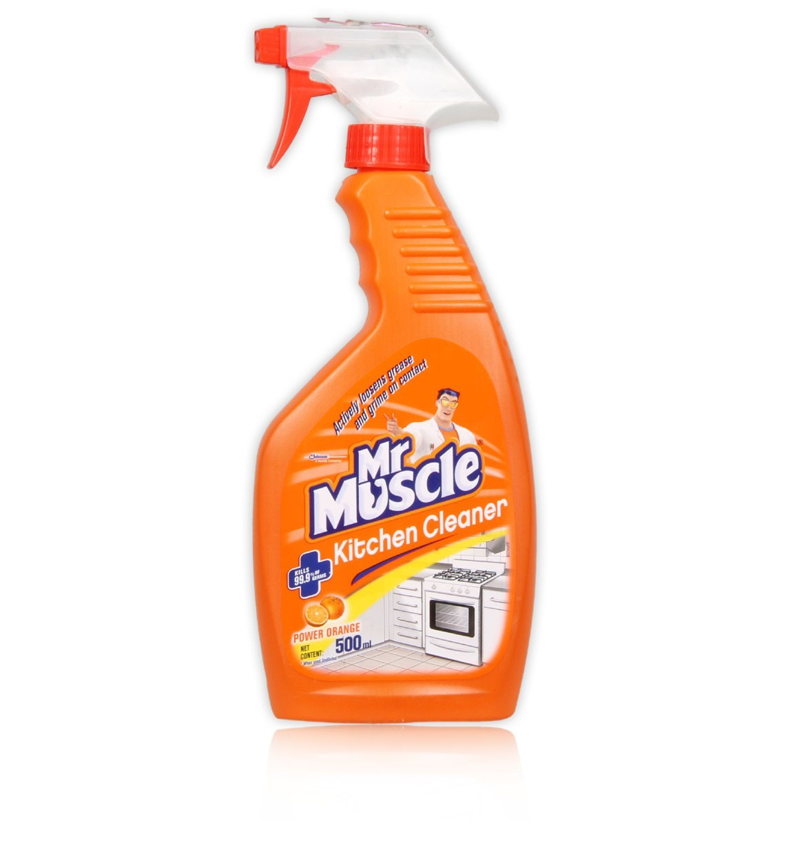 Kitchen Cleaner: Mr. Muscle Kitchen Cleaner