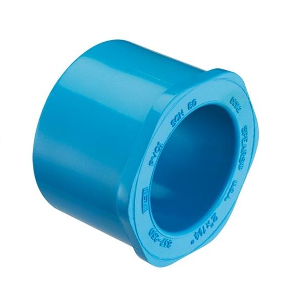 PVC Blue Bushing Reducer – Silver Rose Hardware